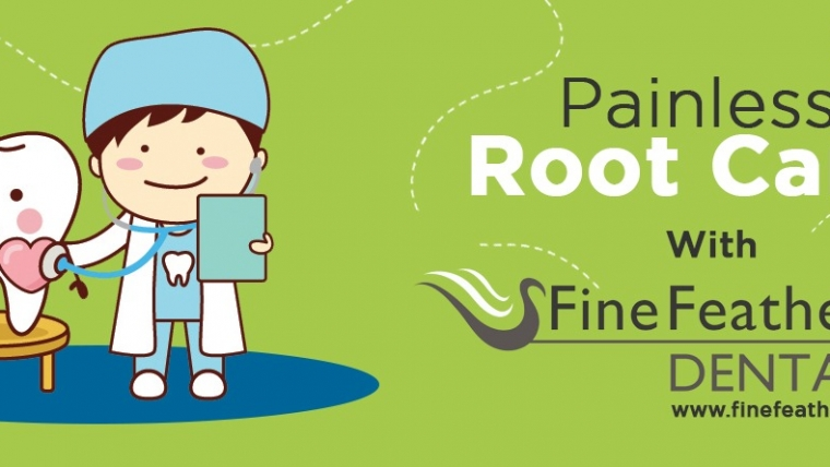 Painless Root Canal with Fine Feather Dental