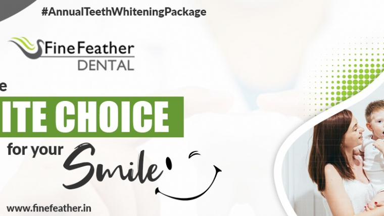 Annual Teeth Whitening Package